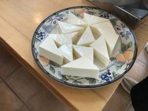 クリームチーズ寒天